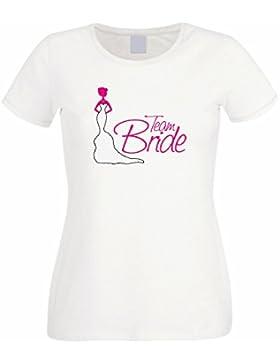Festeggiamenti DONNA/RAGAZZA T-Shirt immagine Team Bride