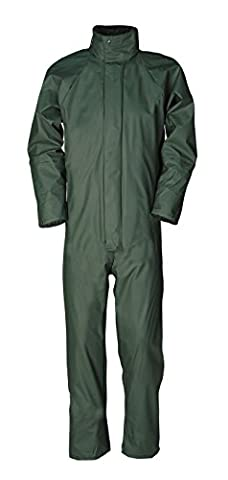 SIOEN 4964A2FC1A41L Montreal Coverall, Large, Green Khaki