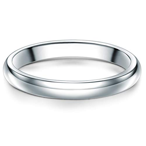 Tresor 1934 Herren-Ring Verlobungsring Sterling Silber 925 - Männer-Ehering für Verlobung oder Hochzeit