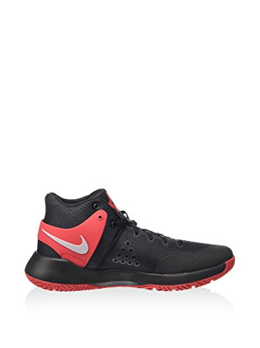 Nike 844571-600, Chaussures De Basketball Homme Noir / Rouge