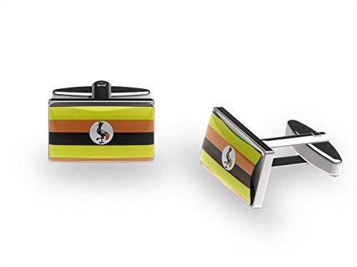 Ugandan-Crane-Cufflinks-Uganda-flag-cufflinks-with-gift-box