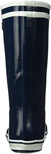 Aigle Damen Malouine Gummistiefel Blau (Indigo)