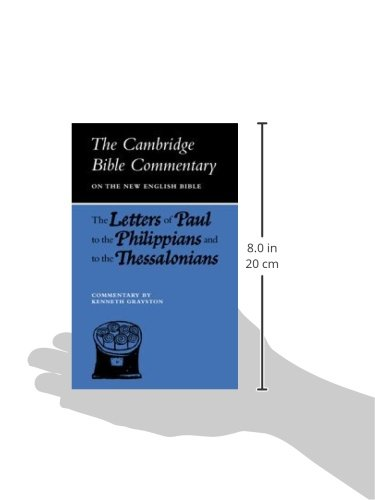 Cambridge Bible Commentaries: New Testament 17 Volume Paperback Set: Letters of Paul to the Philippians and to the Thessalonians (Cambridge Bible Commentaries on the New Testament)