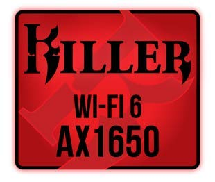 Killer Wi-Fi 6 AX1650 Module - Dual Band, 2x2 Wi-Fi 6/11AX, Bluetooth 5.0, M.2/NGFF (Gig+)