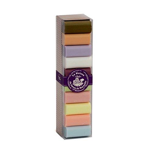 10 Verschiedene Provence Gäste-Seife Sheabutter 30g Geschenkbox -