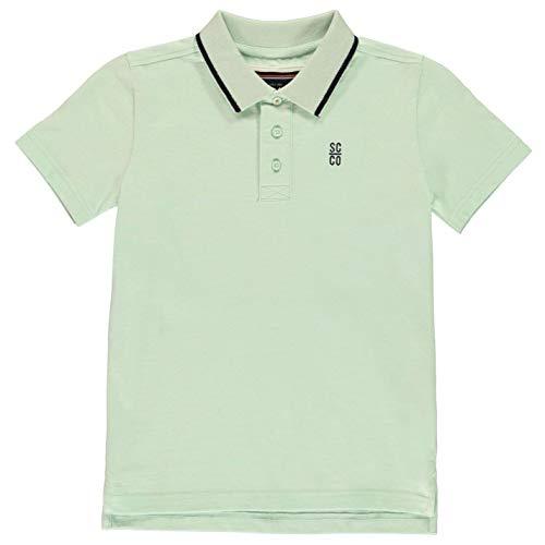 Kragen Signatur Polo (SoulCal Jungen Signatur Polo Shirt Klassisch Fit Baumwolle Mint M)