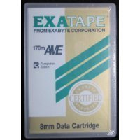 Exatape Exabyte Bandkassette 170 m Ame 20 GB 8 mm Data Cartridge
