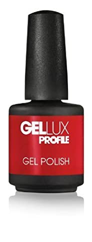 Salon System Profile Gellux Vernis à ongles Rouge 15ml par Salon système