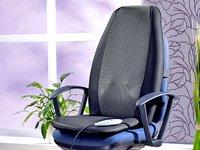Premium Massageauflage mit Tiefenwärme für Auto und Zuhause 12V/230V