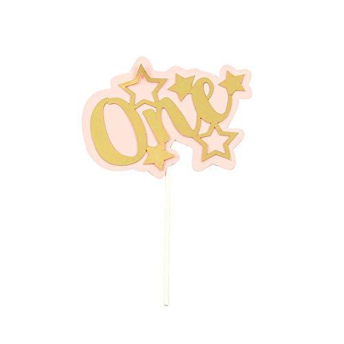 Opfury Personalisieren Sie Den Ersten Geburtstag Kuchen Top Hat Jeden Alters, Personalisierte Baby Geburtstag Cake Topper, Baby Boy Und Mädchen Ersten Geburtstag Kuchen Dekoration