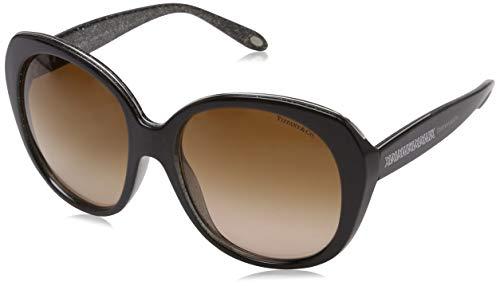 Tiffany & Co. Unisex TF4115 Sonnenbrille, Braun (Brown 82043B), One size (Herstellergröße: 55)