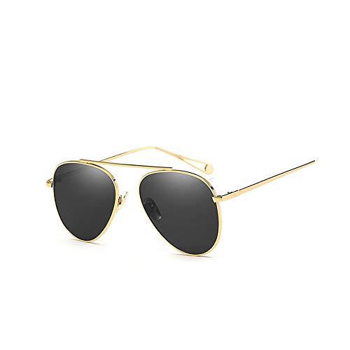 Zbertx Sonnenbrille Designer Vintage Spiegel Sonnenbrille Legierung Rahmen Retro Sonnenbrille Für Frauen M,Gray