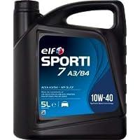 Elf Aceite sporti 7 a3/b4 10w40 5 litros Diesel-Gasolina