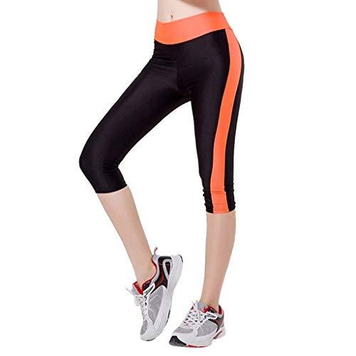 Yoga Fitness Leggings 3/4 Pantaloni Zarupeng Tasche Laterali delle Ghette di Capris di Allenamento di Yoga di Controllo del Tummy della Vita Alta delle Donne