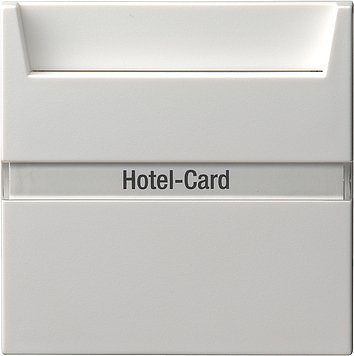 Preisvergleich Produktbild Gira 014027 Hotel Card Taster BSF System 55 Reinweiß matt