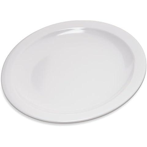 Carlisle 4350402 Dallas Ware Melamine Pie Plate, 6.5