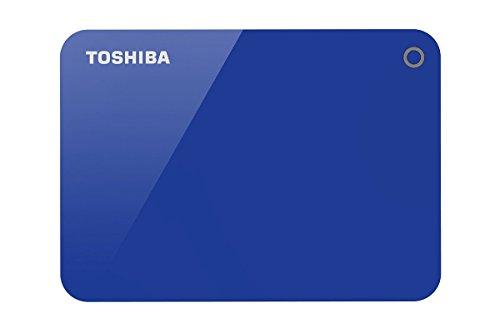 Toshiba HDTC920AL3AA Canvio Advacne 2TB USB3.0 External Hard Drive (Blue)