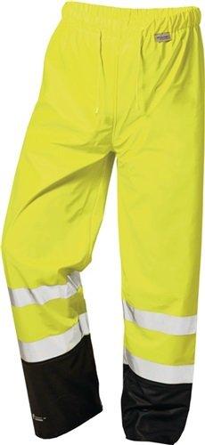 Feldtmann Warnschutz PU Regenbundhose Dirk EN ISO 20471/1, EN 343/3 Gr. XXL gelb/schwarz -