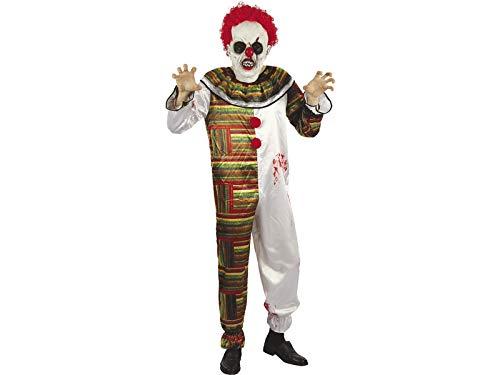 DISONIL Kostüm Erwachsen Mann schrecklicher Clown Größe M