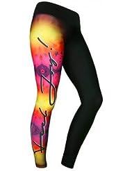 Leggings Fitness, Danse, Yoga Femme Power Rose - Feel J!