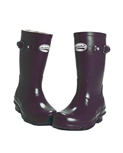 Rockfish Wellington Boots - Original Gloss Kids Wellies Black