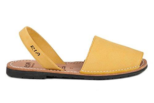 RIA MENORCA Scarpe Sandalo Donna 20002-S2 Nubuk SAFRON PE18 5323e56abe0