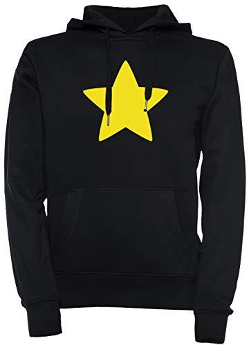 r Unisex Herren Damen Kapuzenpullover Sweatshirt Pullover Schwarz Größe XXL Men's Women's Hoodie Black T-Shirt XX-Large Size XXL ()