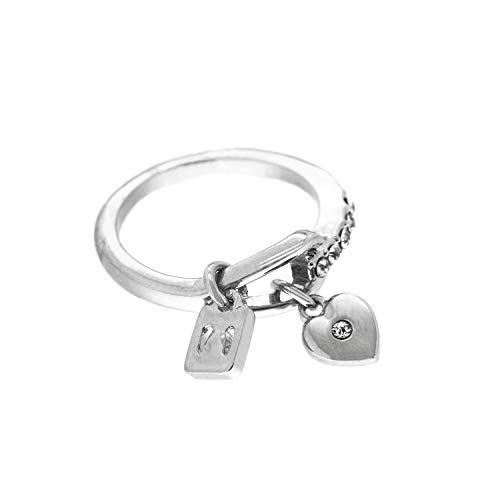 Sweet Deluxe Ring Laredo, Silber/Crystal I Damen-Ring I Mode-Schmuck Ring für Frauen I Ringe Rings für Mädchen I modisches Design-Accessoires