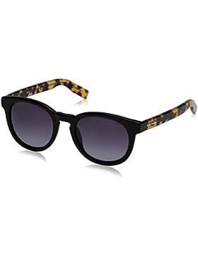 Boss Orange Unisex-Erwachsene Sonnenbrille 0194/S Hd, Schwarz (Spttd Hvn Bk Y5q), 50