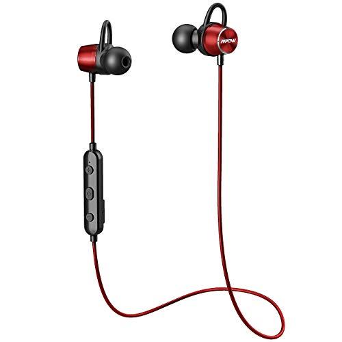 örer In Ear, IPX6 Wasserdicht Sport Kopfhörer, 7-9 Stunden Spielzeit/Stereo Sound/Bluetooth 4.1/Mikrofon, Sportkopfhörer Joggen/Laufen, Magnetisches Headset für iPhone Android ()
