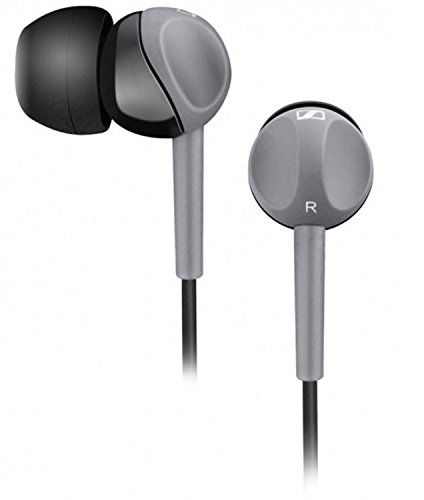 Sennheiser CX 180 Street II In-Ear Headphone (Black), without Mic.