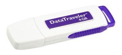Kingston DataTraveler USB 2.0 4GB Pen Drive (Blue)