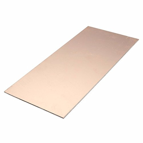 ExcLent 100X220X1.5Mm Doppelseitige Kupfer Verkleidet Platte Pcb Leiterplatte Fr4 Laminat