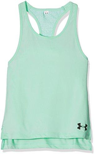 Under Armour Mädchen Luna Fitness-T-Shirts & Tanks, Grün, L
