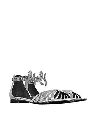 roberto-cavalli-femme-eqs430pn0120550136-argent-cuir-sandales