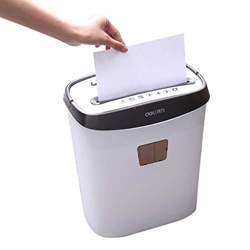 Distruggi documenti trituratore silenzioso trituratore di documenti trituratore portatile piccolo commerciale livello 4 riservato secchio di carta sminuzzato 15l