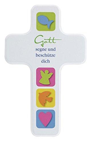 Gott segne und beschütze dich: Holzkreuz