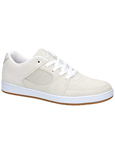 Chaussures de skate Homme ES Accel fin Wade Desarmo Chaussures de skate White/White/Gum
