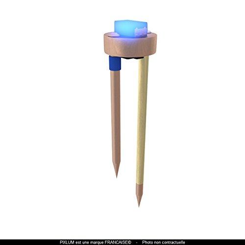 PIXLUM - PixLED Erweiterung Sternenhimmel Deckenleuchte Lampe Deckenlampe Nachtlicht (blau, 10 Stück)