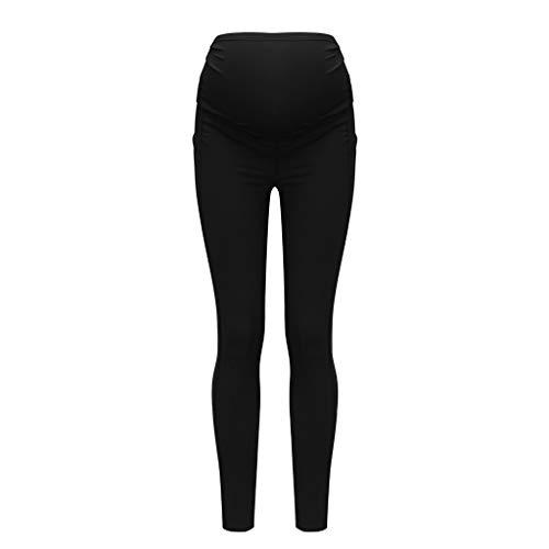 QinMMROPA Pantalones Premamá Leggings Banda Mujer