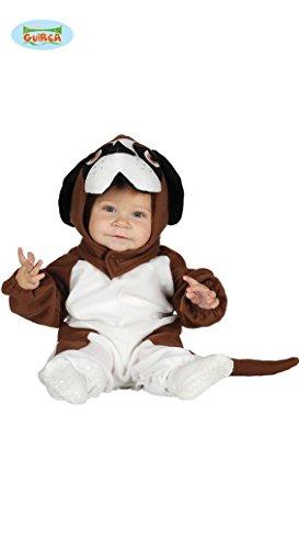 Kinderkostüm Bernhardiner Baby Overall Mütze Hundekostüm Tierkostüm Hund -