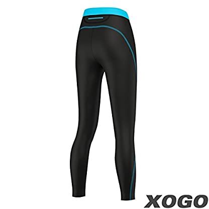 XOGO Womens Compression Base layers for All Season - Long Sleeve Compression Tops and Legging – Sports Base layers for Women - For Running, Cycling and Yoga – UV Sun Protection and 4 Way Stretch 7