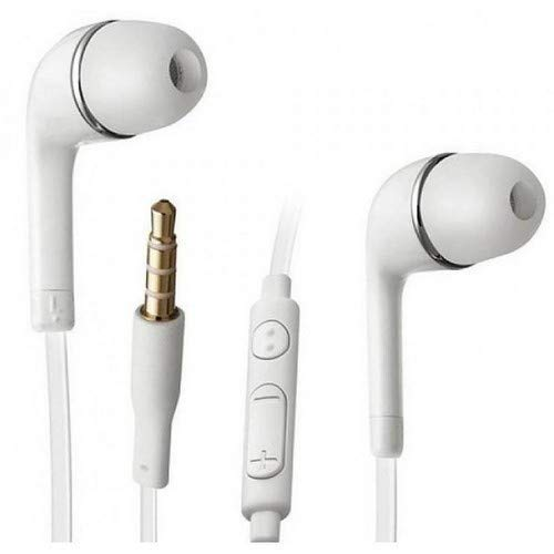in-Ear Earphones with Microphone (White)