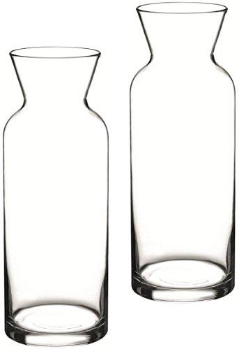 2 x Glas Karaffe Village 1L geeicht