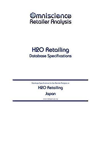 H2O Retailing - Japan: Retailer Analysis Database Specifications ...