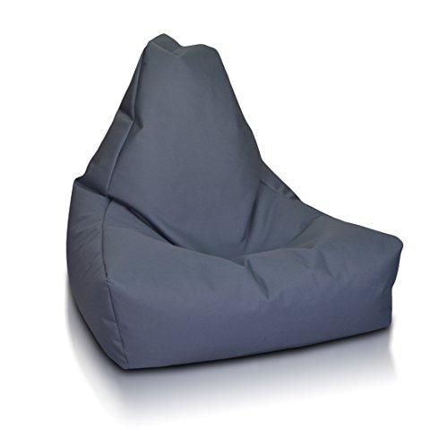 Ecopuf Keiko M Sitzsack Abdeckung, aus Polyester, Ideal für Jugendliche und Erwachsene, 85x100x80...