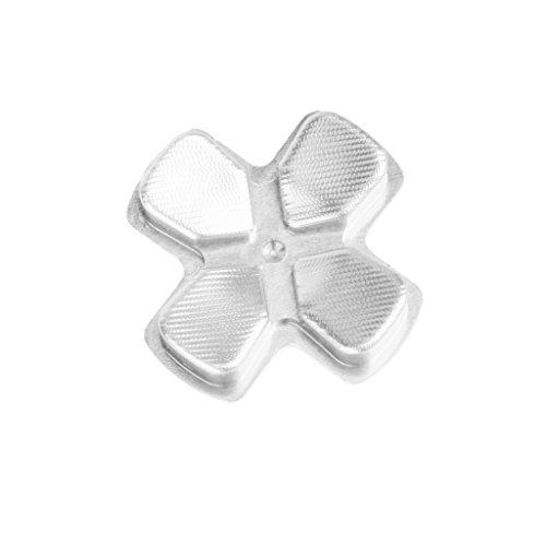 Metall Ersatz D-PAD Taste für PlayStation 4 PS4 Regler Silber
