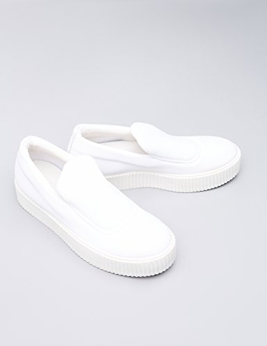 Find Scarpa Slip-on En Néoprène Donna Bianco (blanc)
