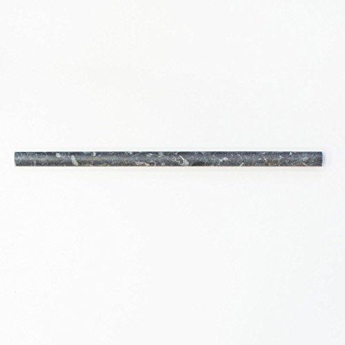 Borde cenefa mármol piedra natural negro Perfil Pencil