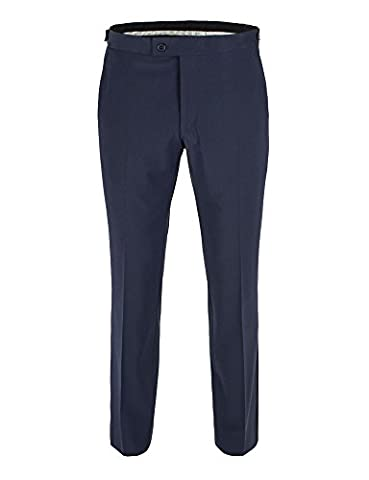 Stvdio By Jeff Banks Navy Plain Tailored Fit Plain Front Dinner Suit Trouser - 0039771 Tailored Fit Mixer Trouser Navy,